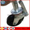 China Adjustable Scaffolding Caster Wheel for Mobile Platform