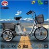 250W 16 Inch Electric Cargo Tricycle for Older with Lithium Battery