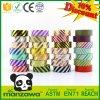 Free Samples Removable Japanese Paper Decorated Sticker Custom Make Rose Gold Foil Oblique Stripes Patterns Washi Masking Tape