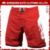 Bulk Sale Custom Logo Men′s Boxing Shorts Red (ELTMSI-10)