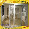 Powder Coating Wood Grain Extrusion Profile Aluminium Window and Door