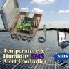 GSM Data Logger, Waterproof Temperature & Humidity SMS Solar Alert Controller (GSMS-THC-ST)