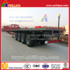 4 Axles Flatbed Type Container Transporting Semi Trailer Long Vehicles