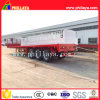 3-Tri-Axle 20-40FT 40-60ton High-Bed Platform Truck Flatbed Container Semi Trailer