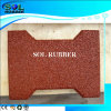 Walkway High Quality Solid Color Through Rubber Flooring