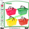 Supermarket Hand Plastic Shopping Basket