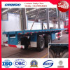 40ft Container Semi-Trailer / Flat Bed Trailer with Bogie Suspension