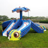 Multitube Water Slides Kids Cartoon Slides (Octopus)