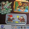 Custom Kids Cartoon Card Shiny Water Resistant Self Adhesive Labels