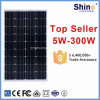 100W Cheap Price High Efficiency Monocrystalline Solar Panel Module for Home Electricity