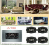 AV139 Furniture Audio with Bluetooth, Touch Screen and a Pair of 6-Inch Speaker (AV139)