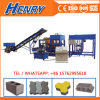 Qt4-20 Automatic Hydraulic Concrete Cement Hollow Block Making Machine Concrete Brick Machinery