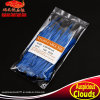 2.5X200 Blue Self-Locking Nylon Cable Ties