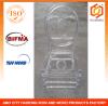 Polycarbonate Resin Double C Phoenix Chair in Transparent Color