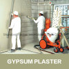 Gypsum Based Plaster Wall Leveling Mortar Additive HPMC