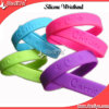 Eco-Friendly Sports Custom Logo Silicone Bracelet (DYSB-018)