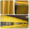 Waterproof&Fr Tarpaulin for Automotive Paint and Sanding Station