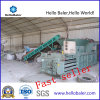 Hydraulic Horizontal Baler for Plastic with CE