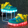 2016 Hot Selling Lowest Factory Price Casual LED Shoes for Child Popular Cheap Fashion Shoes