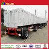 3axles 25ton Rear Side Tipping Dump Draw Bar Tractor Trailer