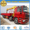 Shacman 8*4 Truck with Loading Crane 12 Tons Truck-Mounted Crane