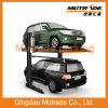 CE 2 Floors Two Cars Parking Lifter Two Post Double Layer Car Hydraulic Parking Lift