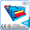 Colored Glazed Tile Roof Panel Roll Forming Machine for Sale
