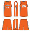 Custom Sublimation Basketball Uniform Jersey as Your Design