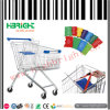 European Style Supermarket Shopping Trolley with Cheap Price