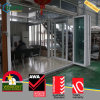 PVC Outdoor Bifold Folding Door Double Glazed Australia