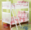 Solid Wood Bunk Bed White Bed High Quality Bed Children Bed