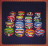 2014 World Cup Wrist Strap Luminescence LED Wristband Football Fans Supplies Festival Carnival Souvenirs Wholesale