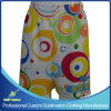 Girl′s Custom Sublimated Artistic Lacrosse Shorts for Sports
