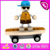 2016 Brand New Wooden Car Toy, Kids′ Wooden Toy Car, Cute Wood Car Toy, Lovely Wooden Car Toy for Baby W04A212