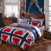 American Classic Style Cotton Duvet Cover Set