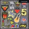 Sew on or Iron on Drink Decoration Embroidery Patch/Applique for Clothing/Hat
