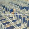 Modern Glass Call Center Cubicles Workstion Furniture