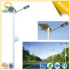 8m 60W Solar LED Streetlight with 10 Years Experience