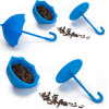 Food Grade Nontoxic Umbrella Sahpe Silicone Tea Infuser