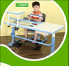 Height Adjustable Mechanism Wooden Kids Furniture Children Table