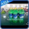 Inflatable Drink Bottle Model, Full Color Advertisement PVC Bottle
