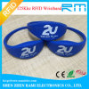 125kHz/13.56MHz Cheapest Silicone RFID Wristbands for Event&Festival