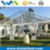 15X15m Luxury Tent with Clear Roof and Windlows for Golf