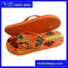 African Colorfu Strap PE Slippers with for Woman (14G015)