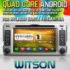 Witson S160 Car DVD GPS Player for Hyundai Santa Fe (2007-2011) /Elantra (2000-2006) with Rk3188 Quad Core HD 1024X600 Screen 16GB Flash 1080P WiFi 3G (W2-M008)