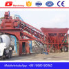 Yhzs50 Mobile Concrete Batching Plant in Shandong
