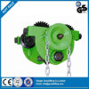 P Type Hand Chain Geared Trolley