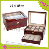 China Wholesale OEM Wooden Storage Watch Box with Drawer
