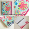 High Quality New Design Colorful Spiral Coil Notebook