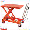 Single Scissor Standard Hydraulic Lifting Table with Wheels Ylf30